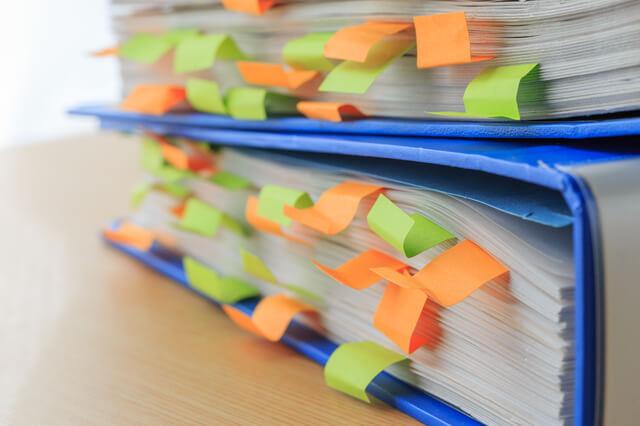 青色申告で保存が必要な帳簿書類と保存期間